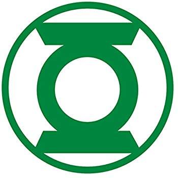 350x350 Green Lantern 3d Metal Car Emblem Automotive