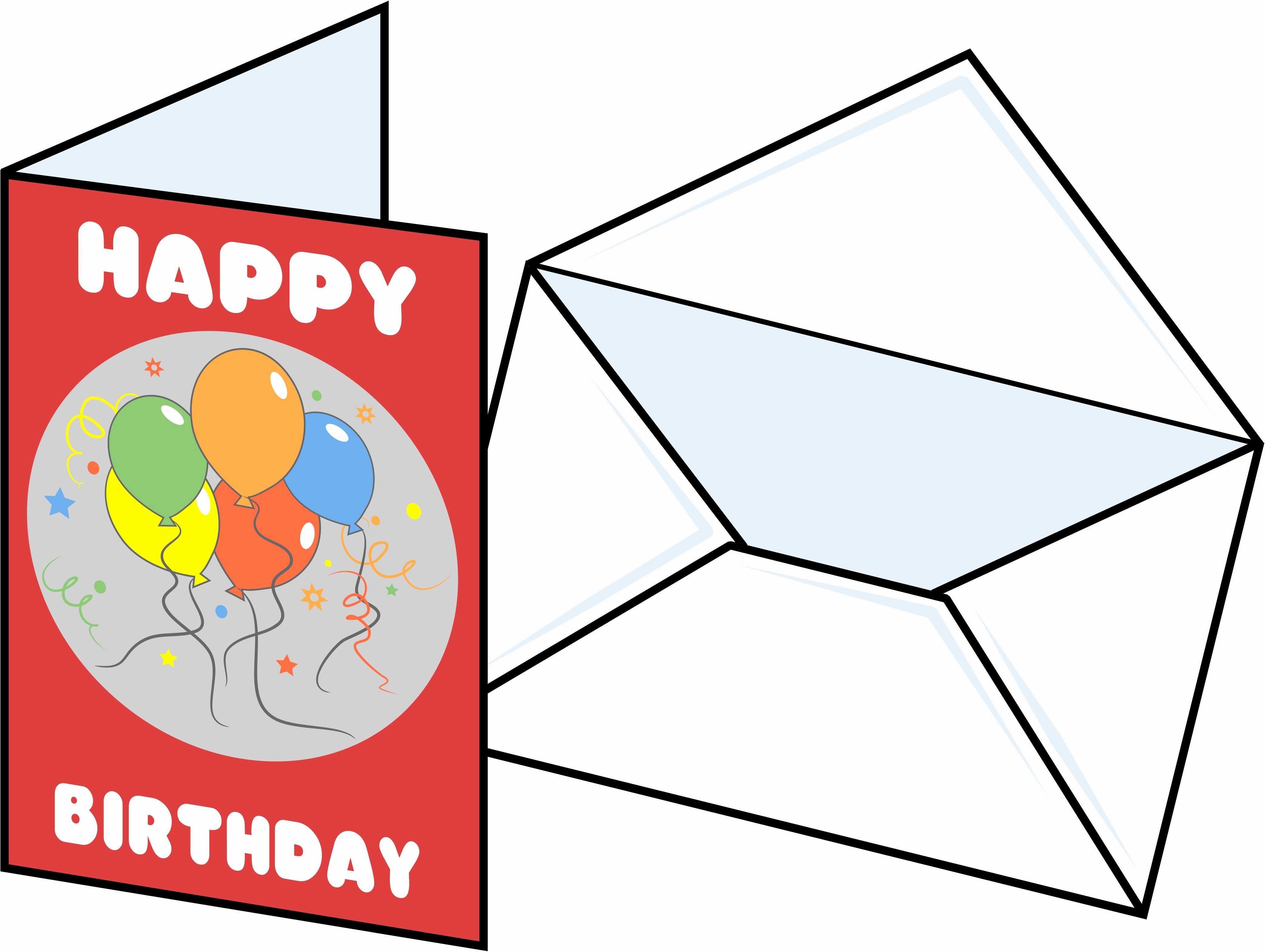 4169x3138 Clipart Of Birthday Cards Best Happy Birthday Wishes
