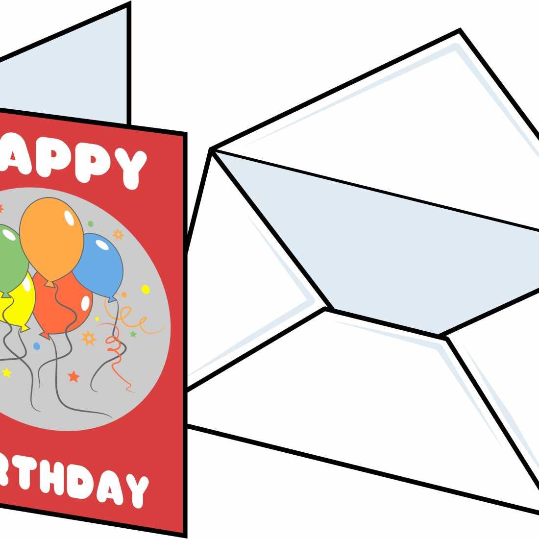1100x1100 Birthday Card Clipart