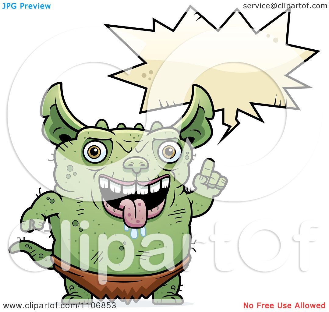1080x1024 Clipart Talking Pudgy Green Gremlin