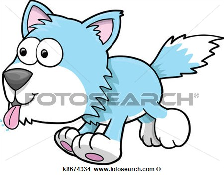 450x351 Silly Dog Clipart