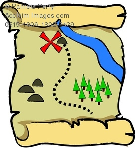 273x300 Map Clipart Images Folded Paper City Roads Map On Grey Background