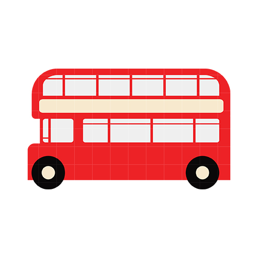 504x504 Greyhound Bus Clipart