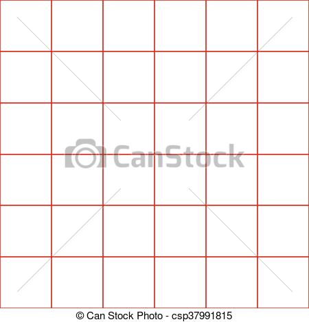 450x470 Red Grid White Background. Red Gride Whtie Background Vector