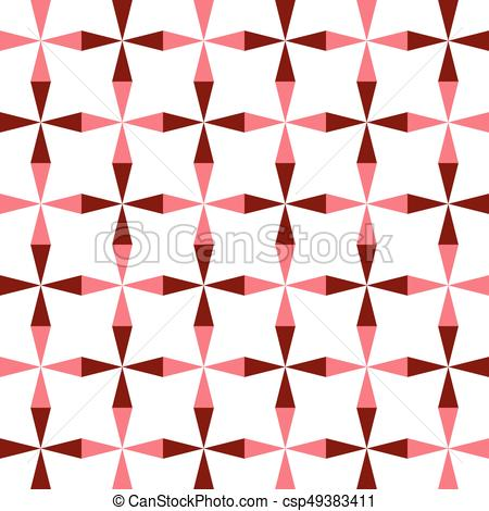 450x470 Seamless Grid Pattern. Abstract Triangle Background. Vector