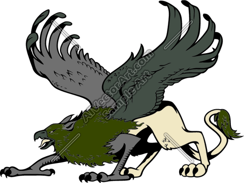 500x375 Es3griffin01clr Clipart And Vectorart Misc Graphics