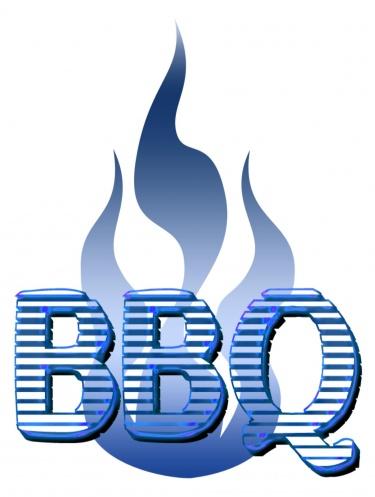 375x497 Bbq With Frames Blue Digital Download Clipart Art Clip Digital Art