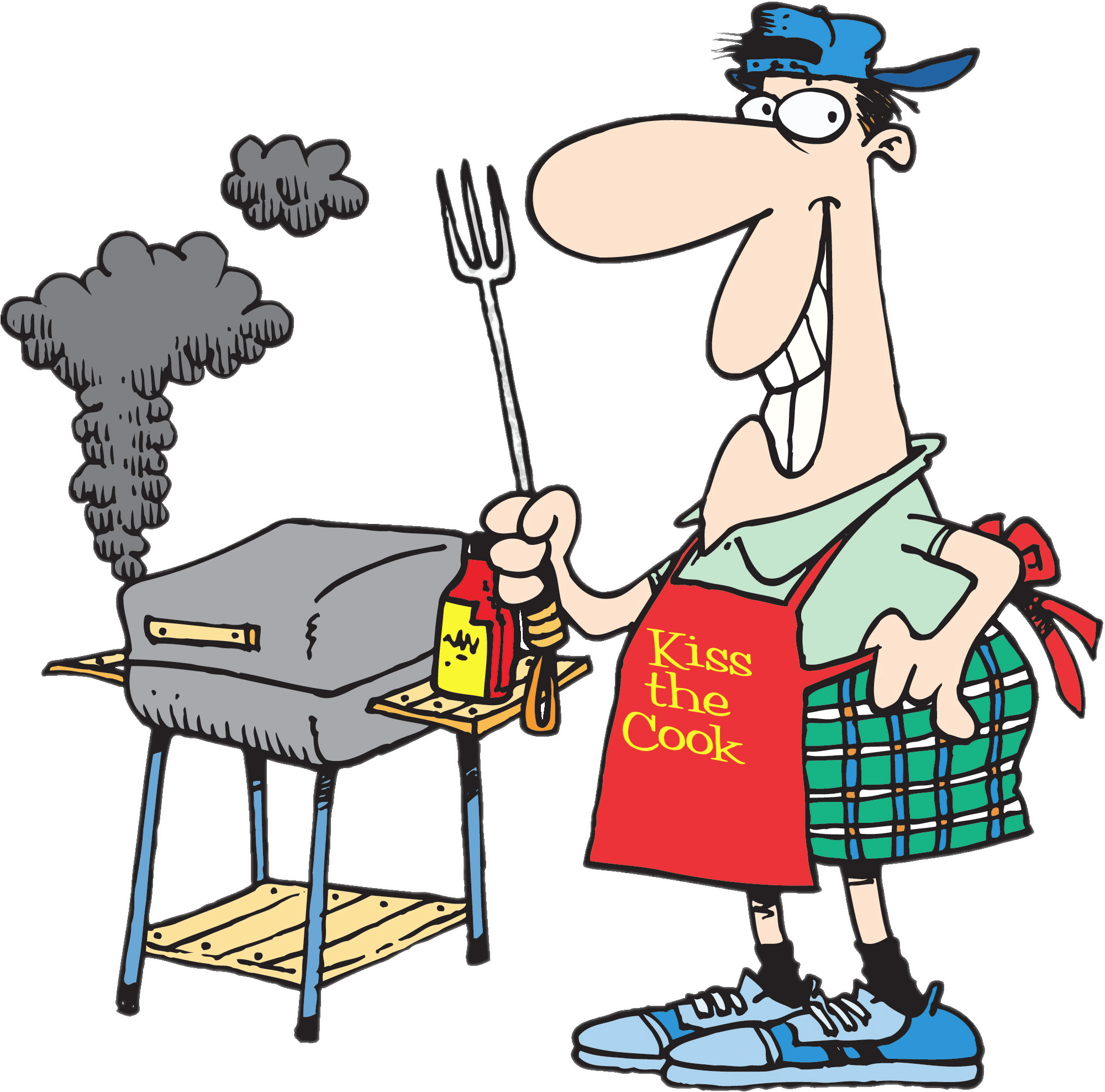 2000x1976 Barbecue Clipart Transparent Png
