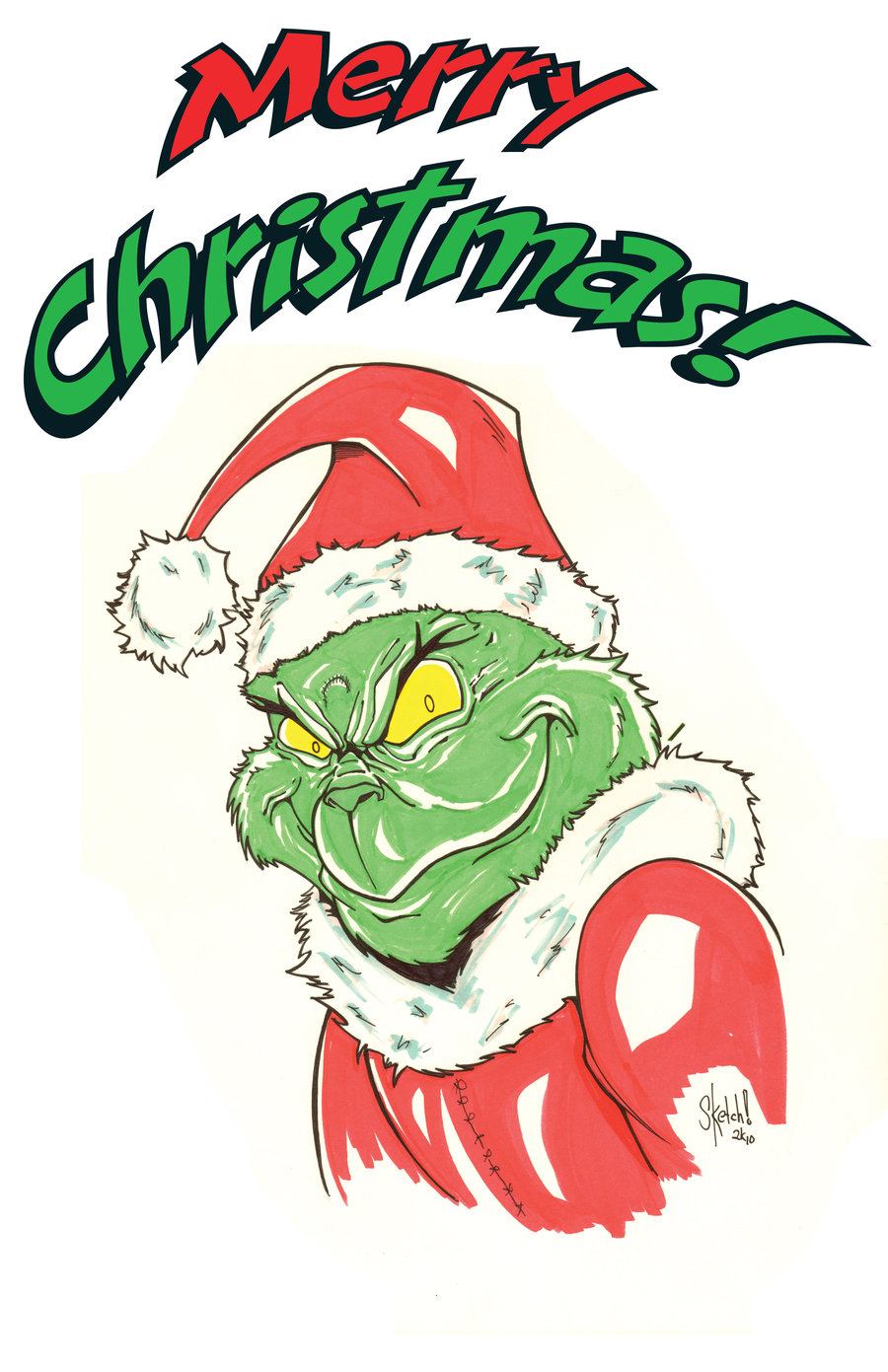 Grinch Christmas Clipart at GetDrawings | Free download