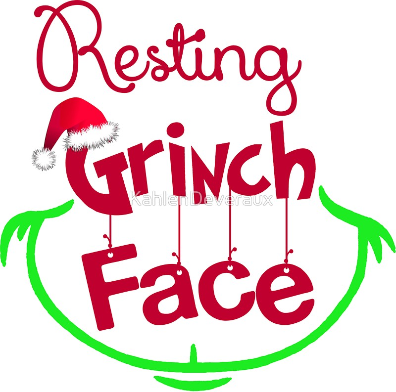 800x793 Face Clipart Grinch