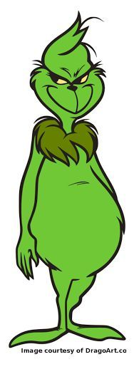 188x518 Grinch Face Coloring Page How To Draw The Grinch Easy Step 7