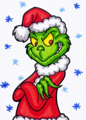 288x400 The Grinch Full Body Clipart