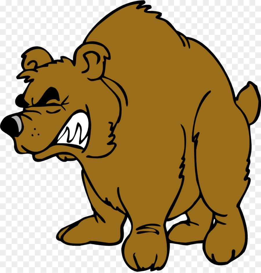 900x940 Brown Bear Grizzly Bear Clip Art