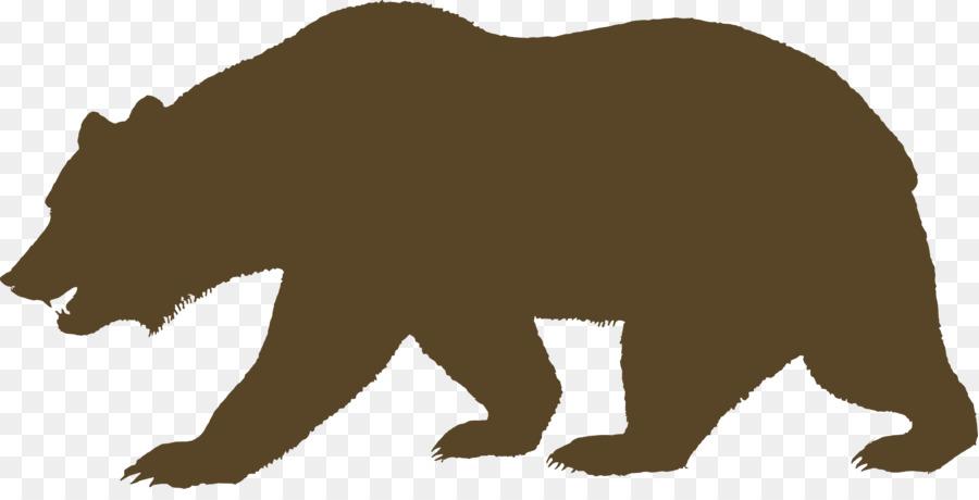 900x460 California Republic California Grizzly Bear Clip Art