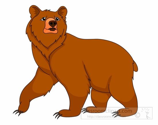 550x437 Bear Clipart