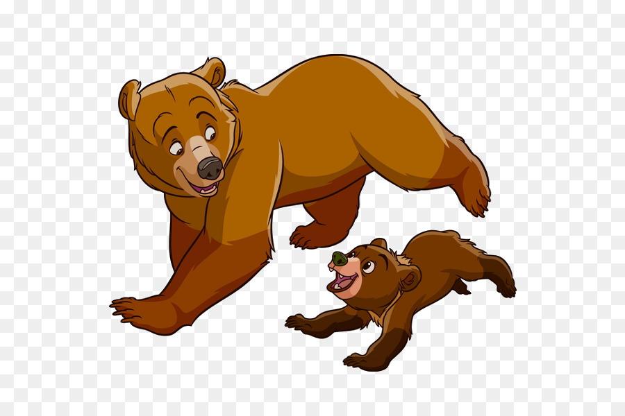 900x600 Brother Bear Koda Animation Clip Art