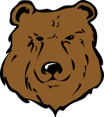 337x380 Free Grizzly Bear Clipart