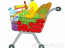 220x165 Grocery Cart Clipart Full Grocery Cart Clipart Shopping Cart Clip