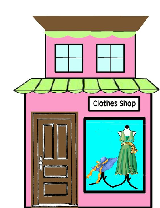 564x730 Pink Boutique Clipart