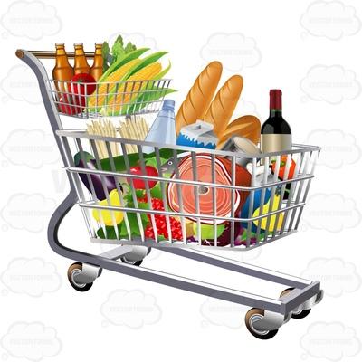 400x400 Cart Clipart Grocery Cart