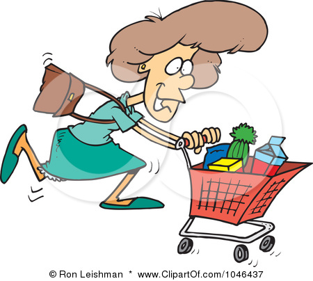 450x404 Cartoon Grocery Store Clipart
