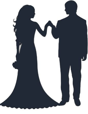 346x445 25 Best Wedding Images On Wedding Cards, Silhouettes