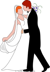 210x300 Free Bride And Groom Clipart Image 0515 1004 3004 2349 Computer