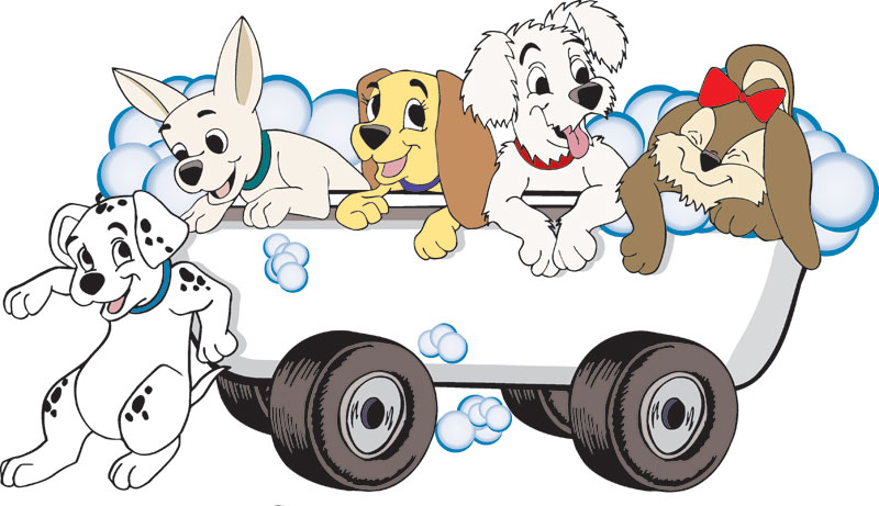 800x461 Wondrous Dog Grooming Clipart Dalmatians The Cliparts