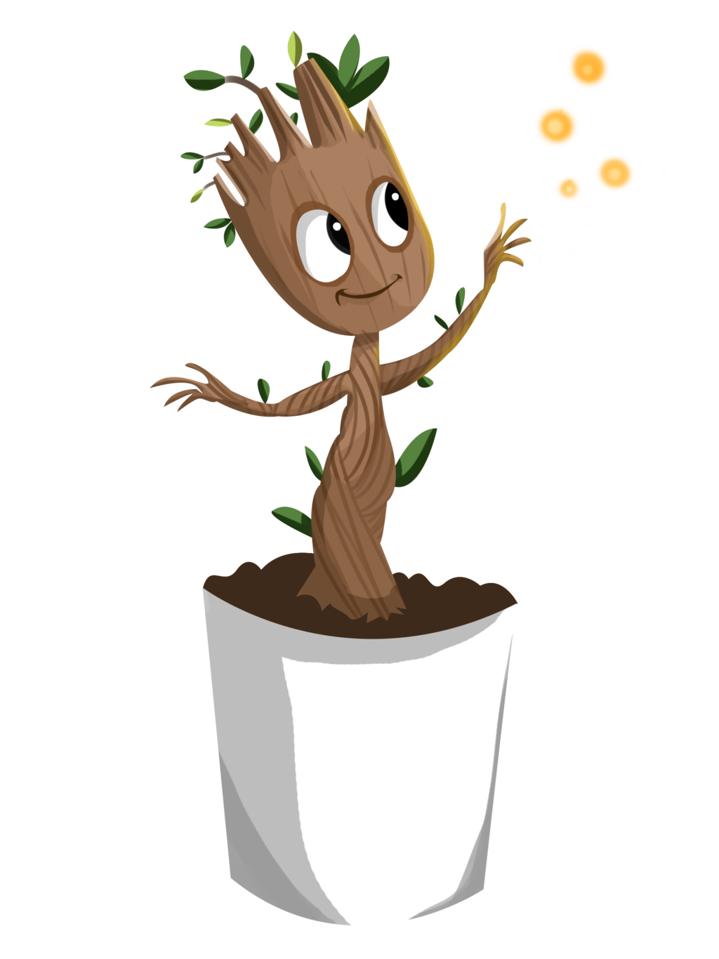 1024x1365 Baby Groot Png Clipart Png Mart