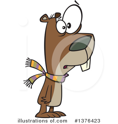 400x420 Groundhog Clipart