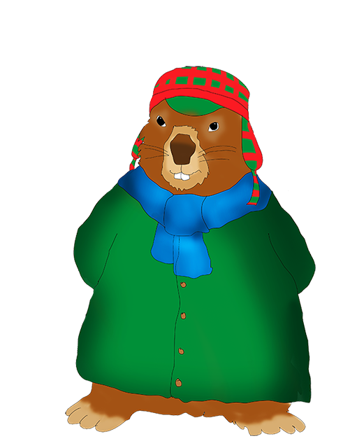 511x630 Groundhog Clipart Winter Day