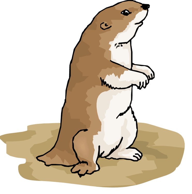 743x750 Prairie Dog Groundhog Clipart, Explore Pictures