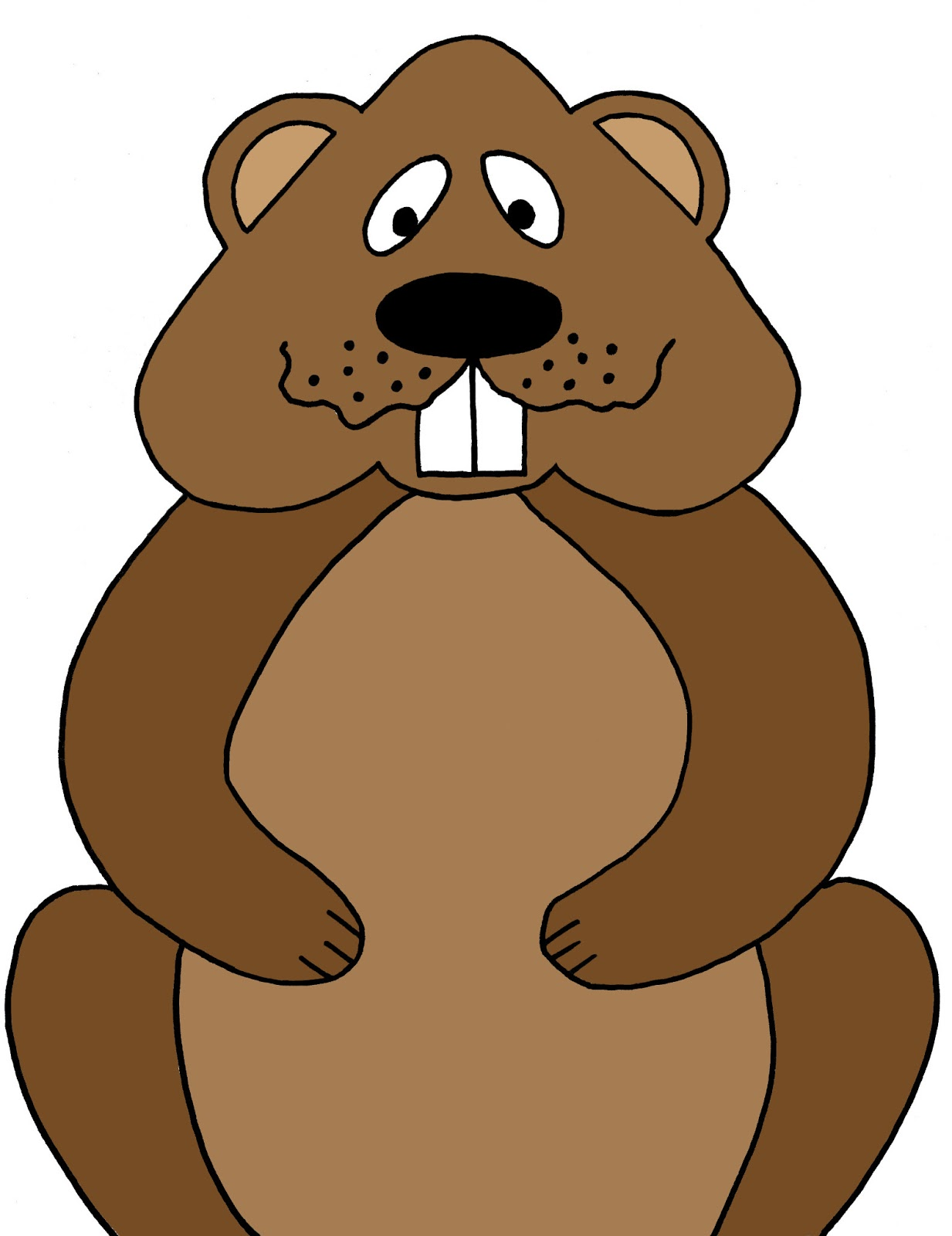 groundhog day clipart at getdrawings com free for personal use rh getdrawings com woodchuck clipart free