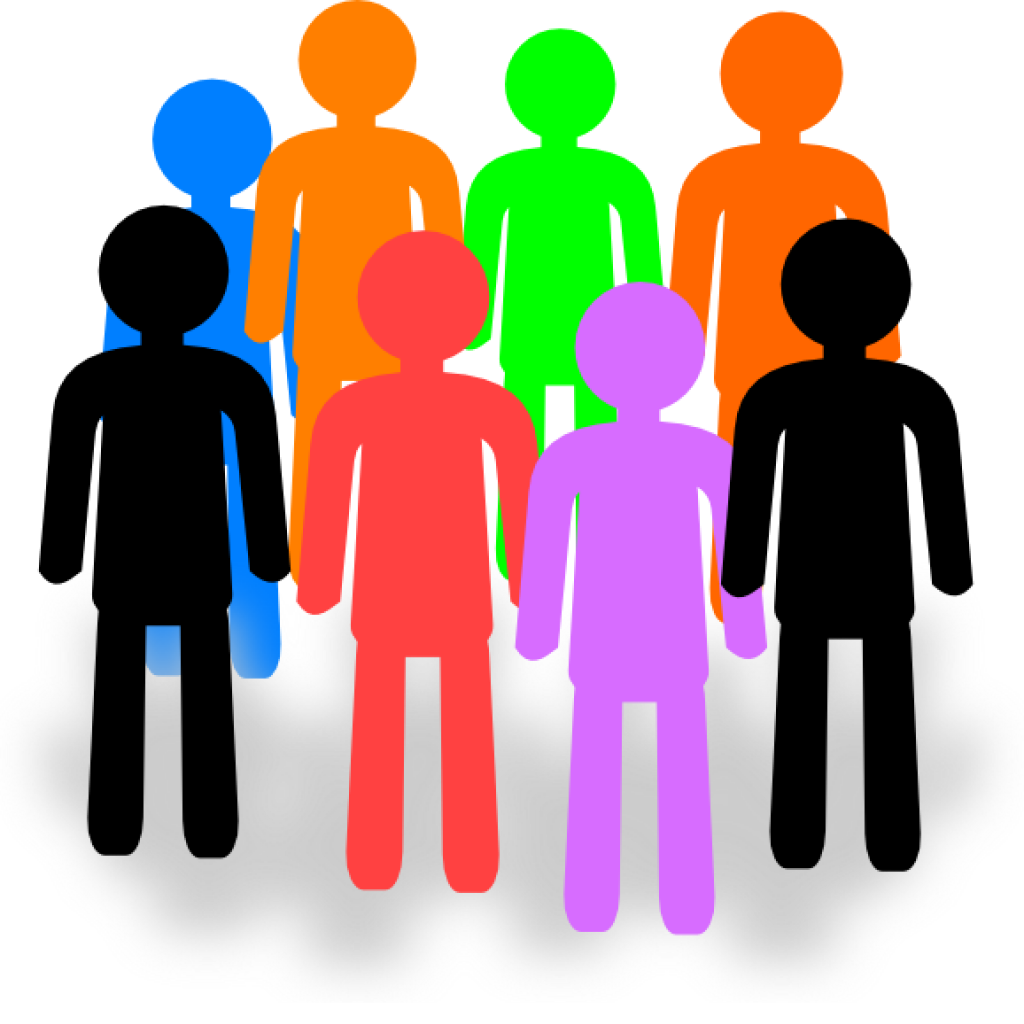 1024x1024 Group Of People Clipart Crown Clipart