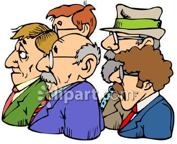 350x285 Group Of Businessmen Clip Art