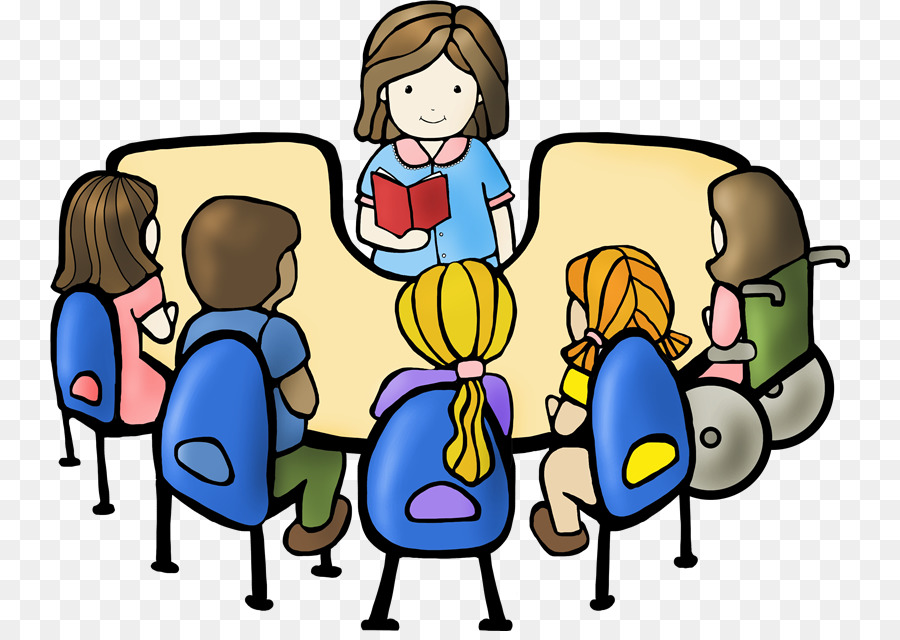 900x640 Student Reading Book Discussion Club Clip Art