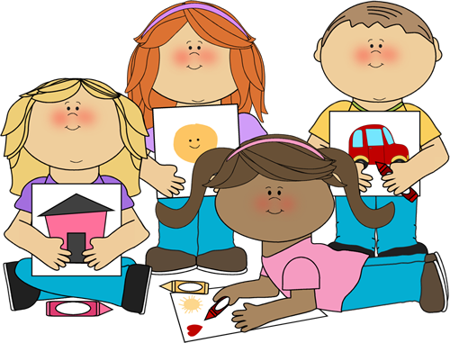 500x381 School Children Clip Art Group Bof Schoolb Bkidsb Coloring