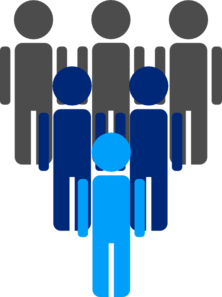 222x297 Group Of People Clip Art