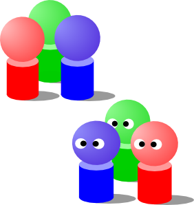 282x298 People Group Clip Art Free Vector 4vector