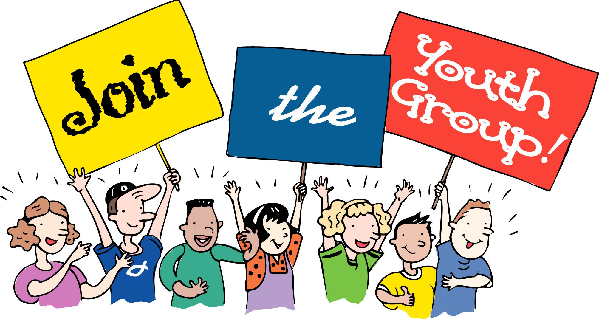 2009x1070 Club Clipart Youth Club