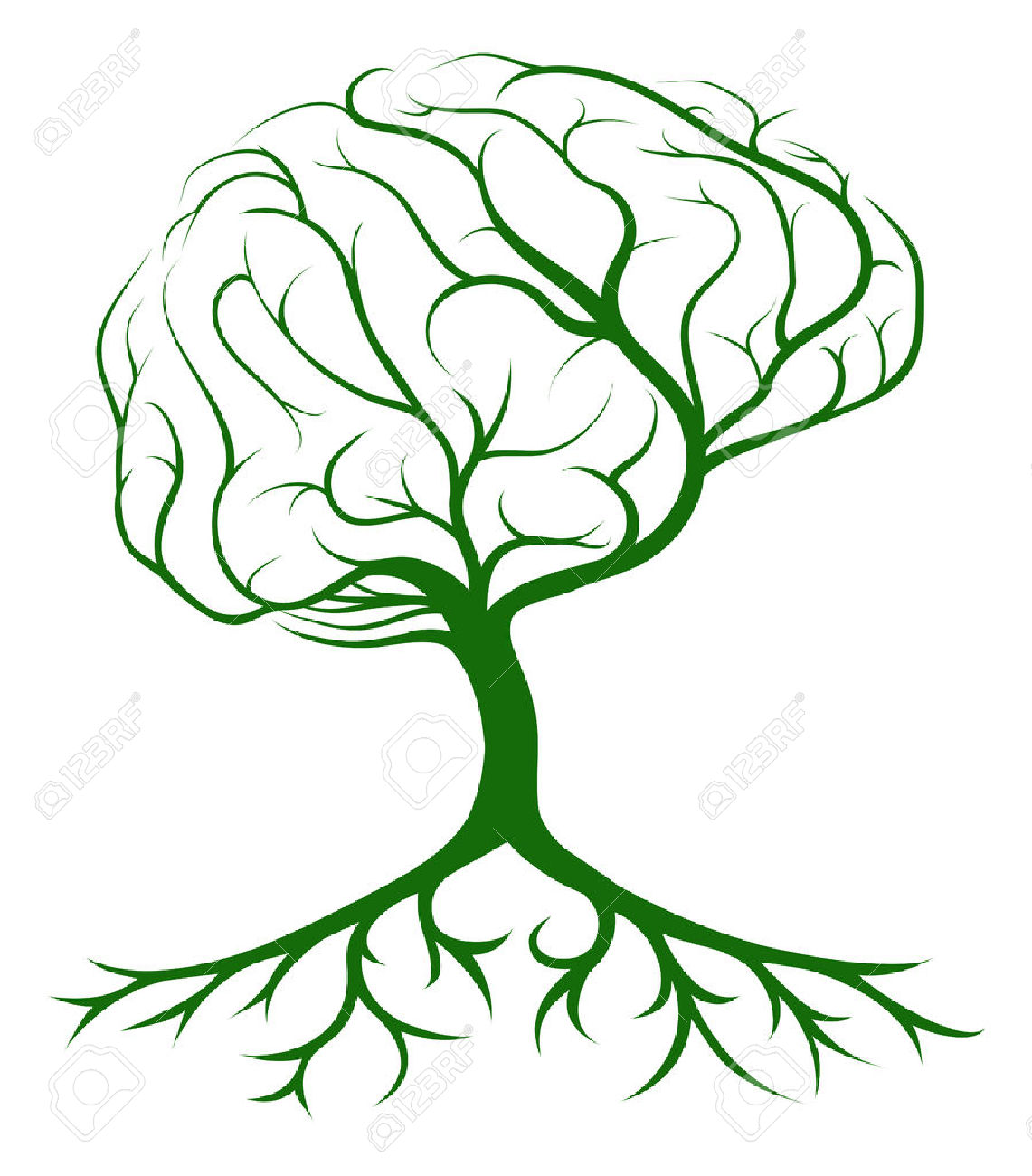 1141x1300 Growing Brain Clipart