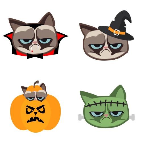 500x500 Clip Art The Official Grumpy Cat Cliparts
