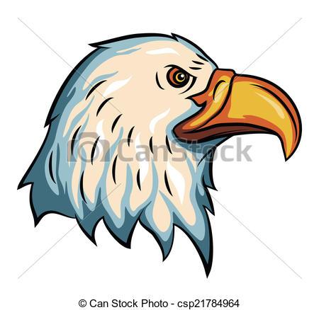 450x438 Eagle Head Clip Art Vector