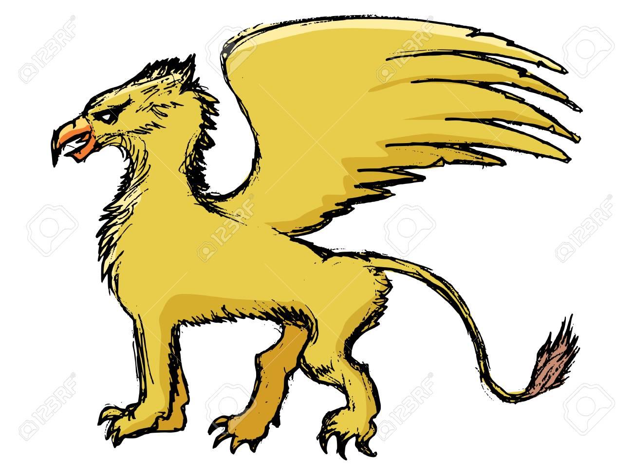 1300x974 Griffon Clipart Mythology