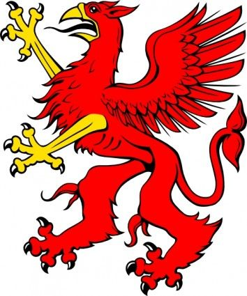 354x425 Red Griffin Clip Art The 2 Men Who Are My Heart