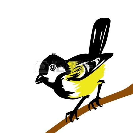 450x450 Pied Wagtail Clipart