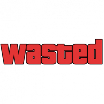 400x400 Wasted Gta Transparent Png