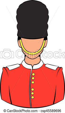 273x470 A Royal Guard Icon Cartoon. A Royal Guard Icon In Cartoon Eps