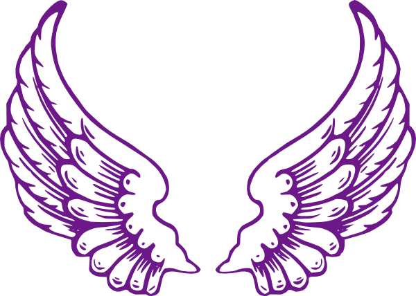 600x428 Our Purple Wings. Free Clip Art
