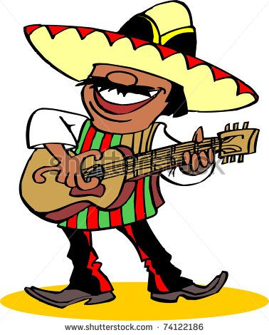 378x470 South America Clipart Mexican Person